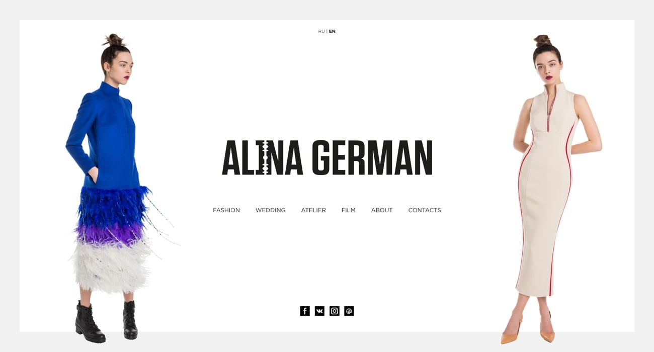 AlinaGerman design preview