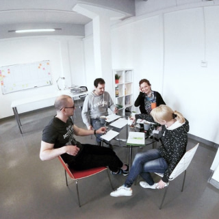 Team in office